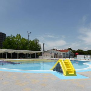 S区水泳場クラブハウス改修及びプール新築